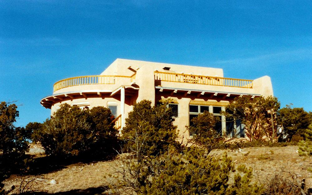 Natural Solar Adobe Residence