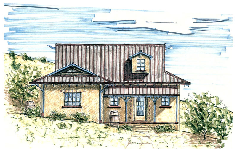 Small straw bale house plans